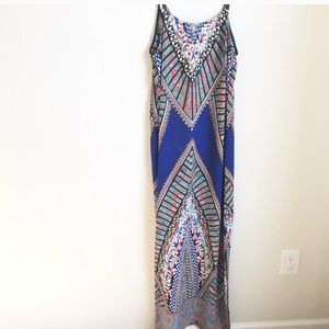 Greylin for Anthropologie Maxi dress, size Small